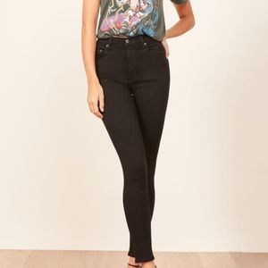 Reformation Black Skinny Jeans